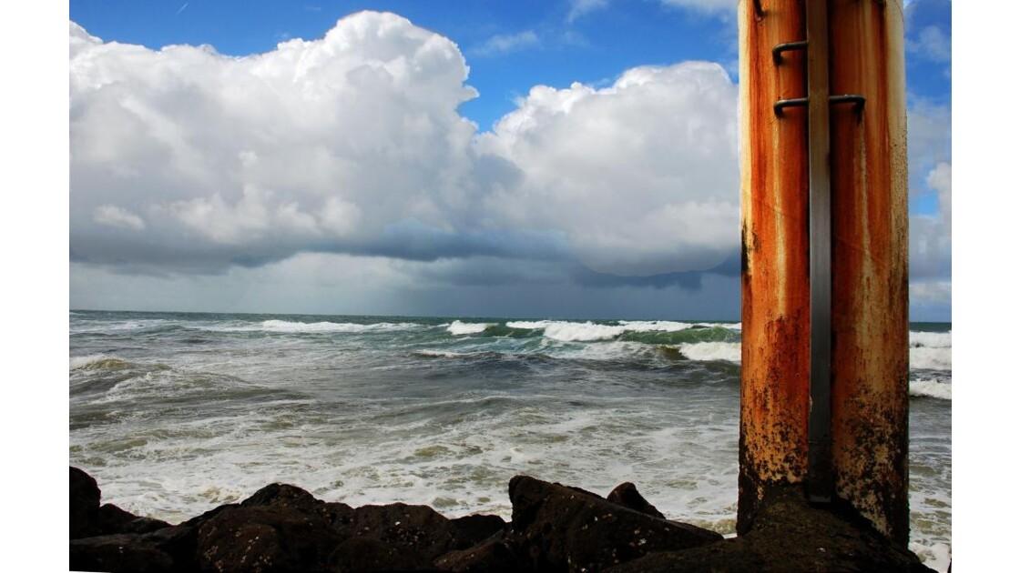 Petit coin de l'océan au mois de mars