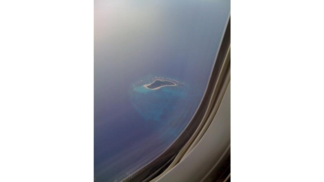 une ile dans l'océan indien