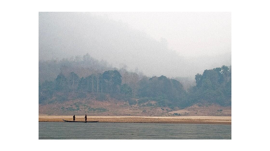 Sur le Mékong (LAOS)