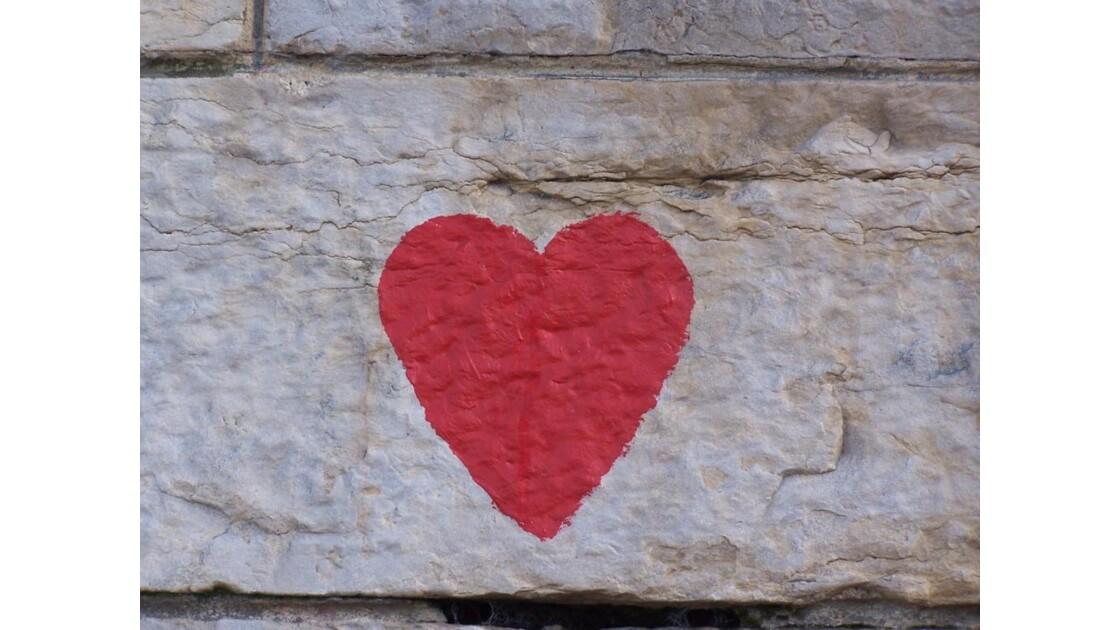 le coeur partout
