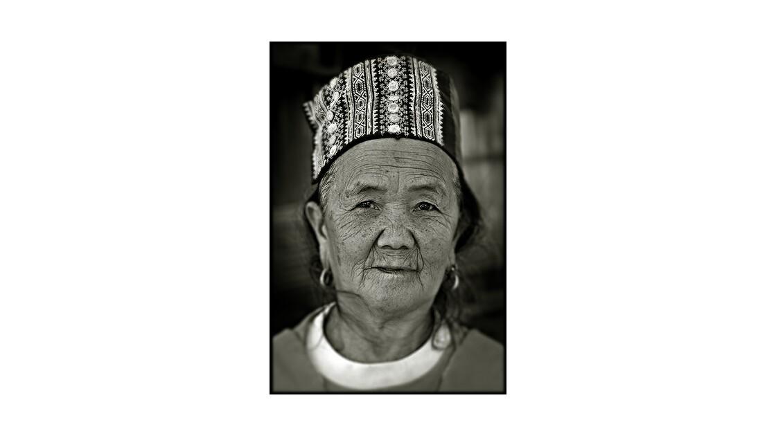 Portrait de femme, Nord de la Thaïlande