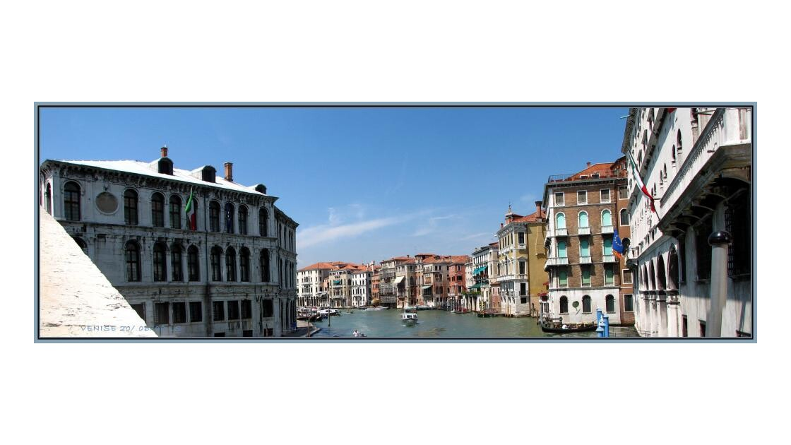 Le grand canal *