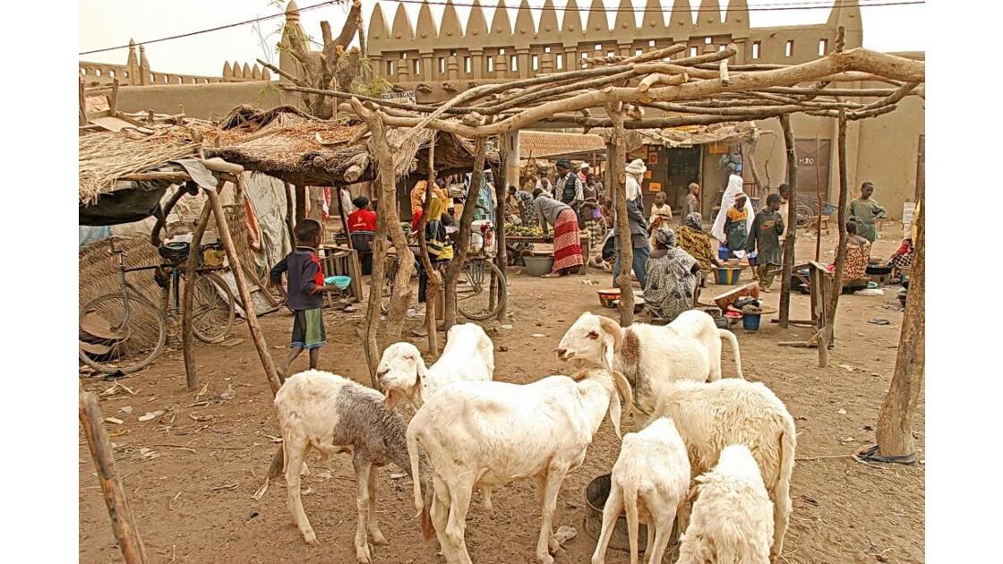Le marché de Djenné