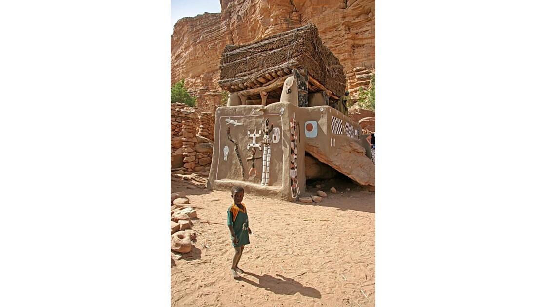 Mali - le toguna d'Iréli