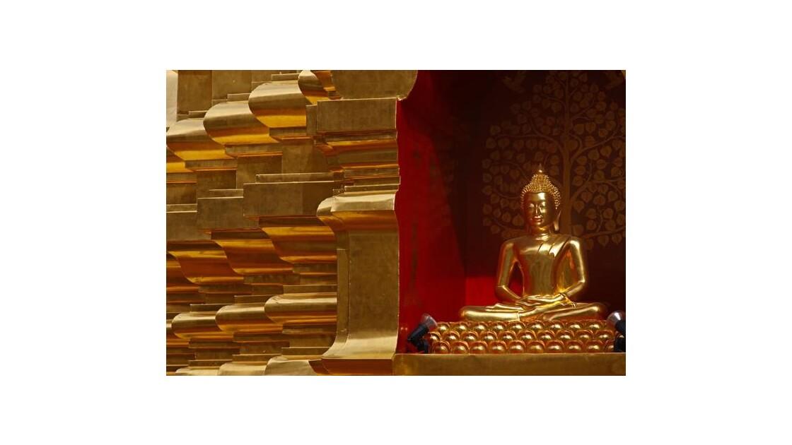 Une pagoda ( Thailande du nord)