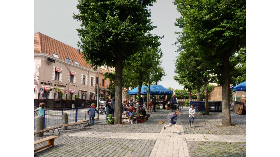 Place, Anderlecht