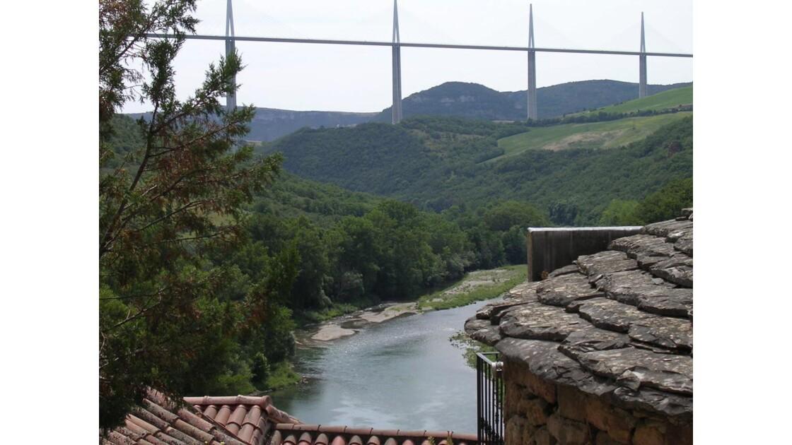 Le viaduc de Millau vu de Peyre