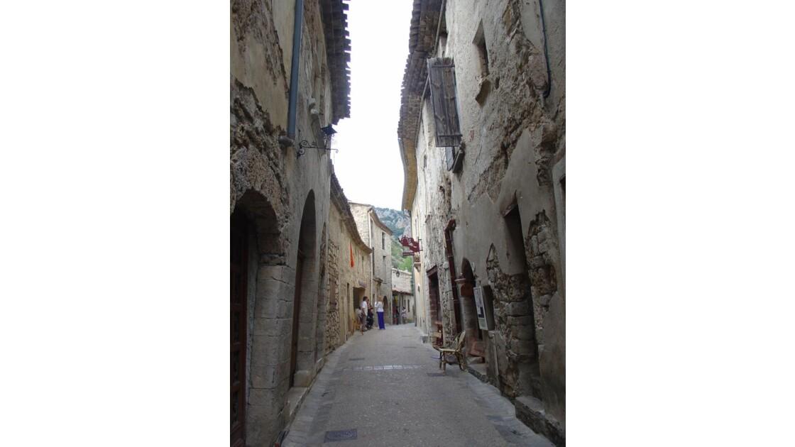 Rue des Pénitents - St Guilhem