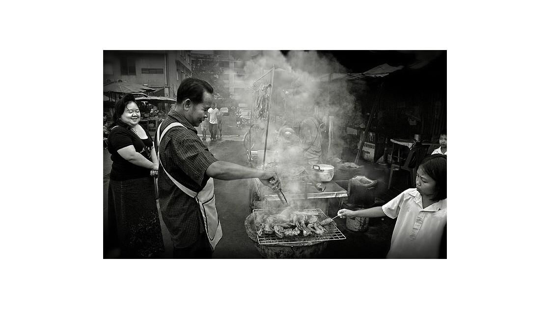 Barbecue à Bangkok