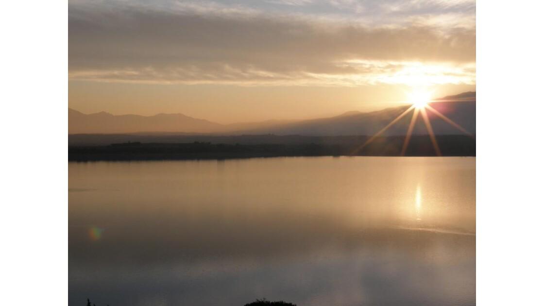 le soleil et l'eau