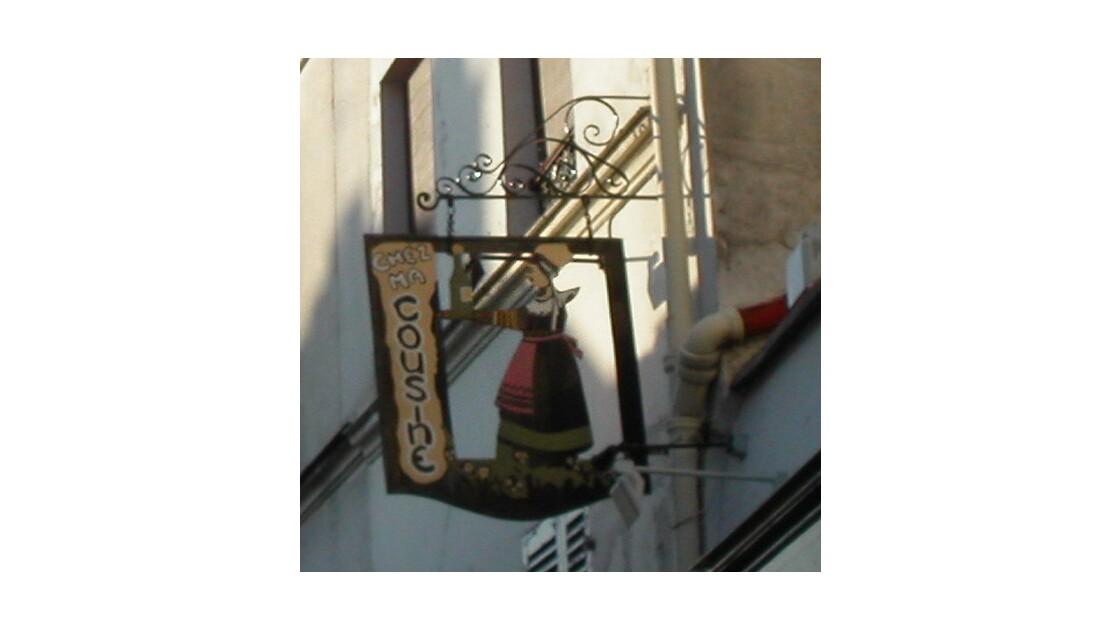Enseigne de Montmartre