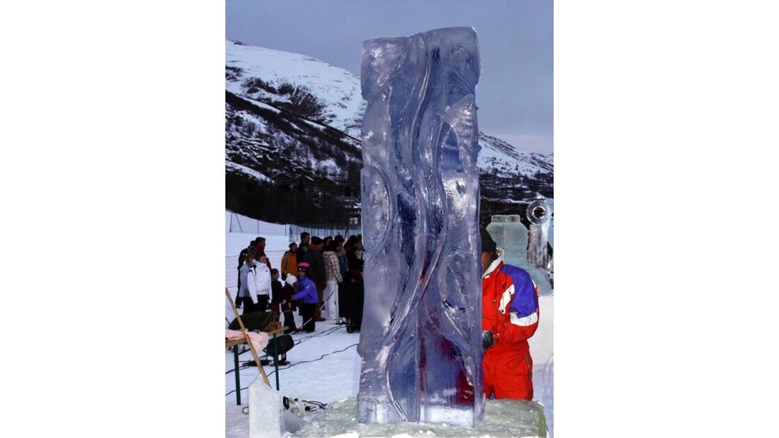 Sculptures de glace Valloire8