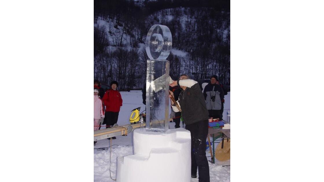 Sculptures de glace Valloire9