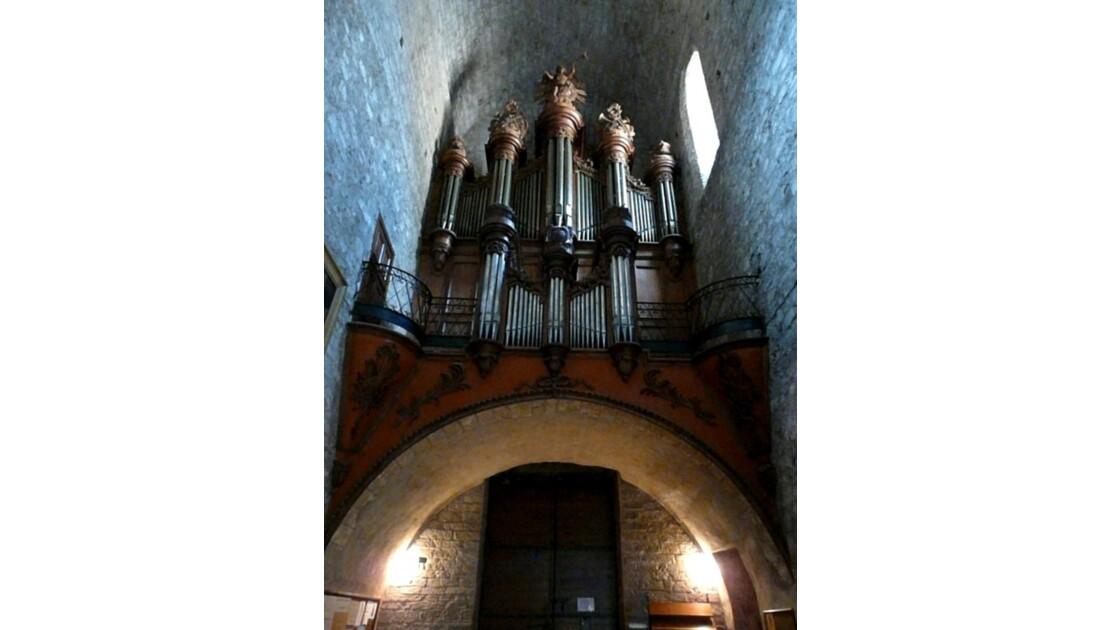 Orgue de l'Abbaye de Gellone