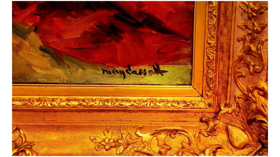 Bord Cadre (Mary Cassatt .)!