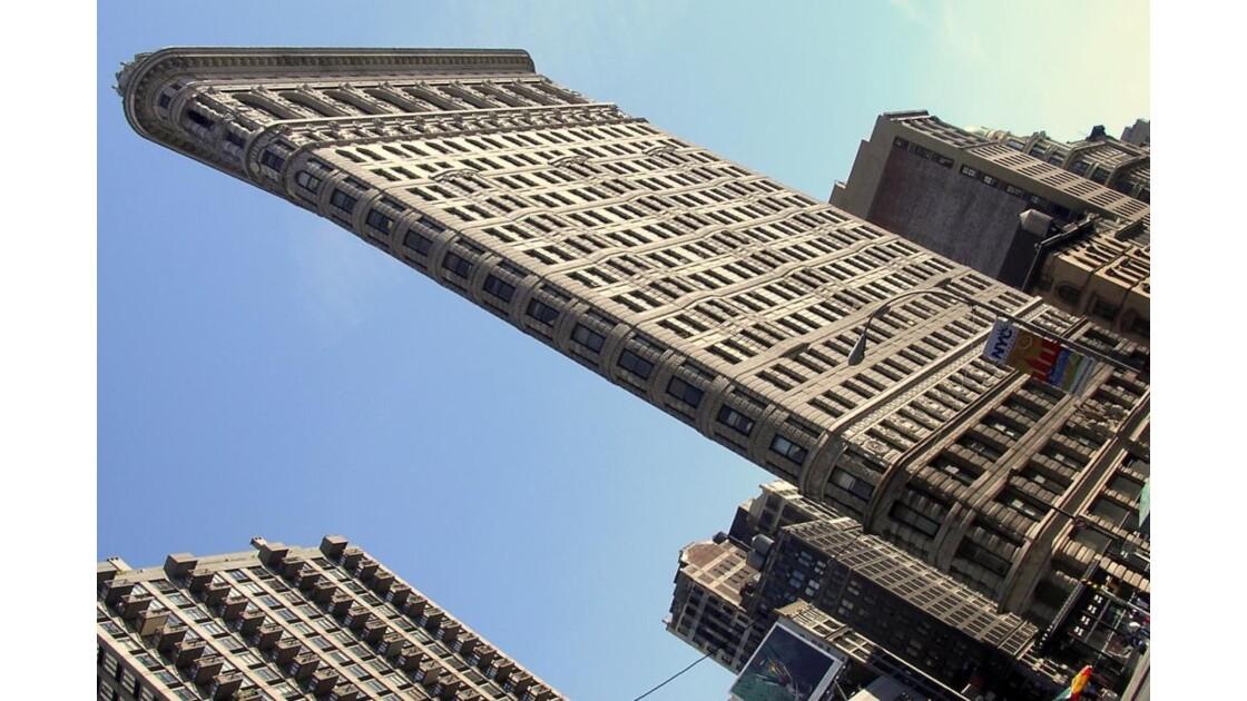 New-York : le Flat Iron Building