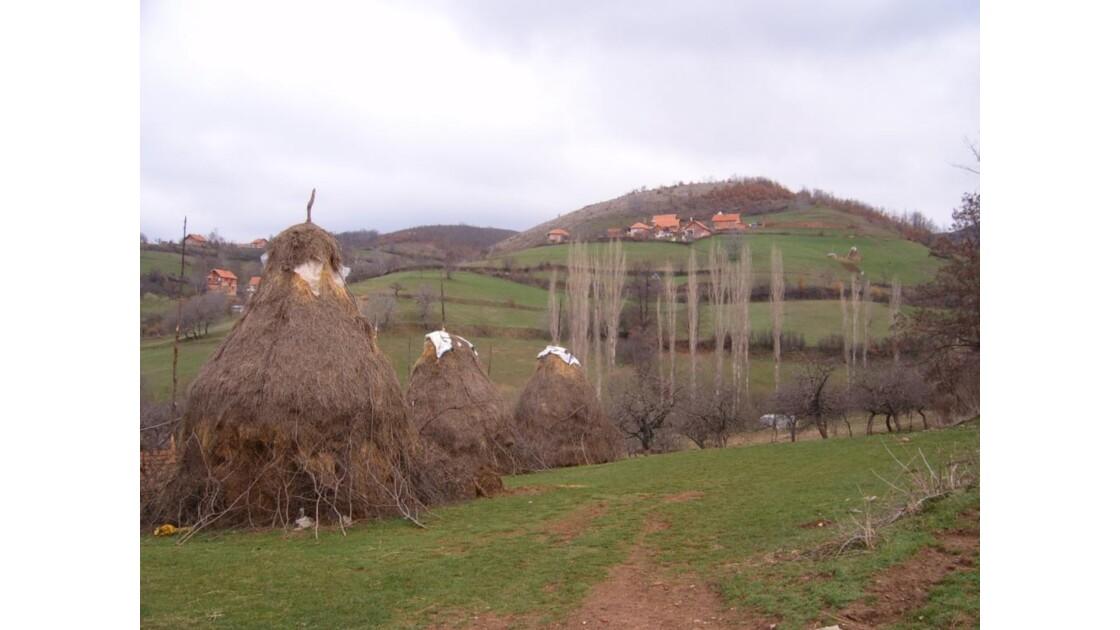 Paysage du Kosovo