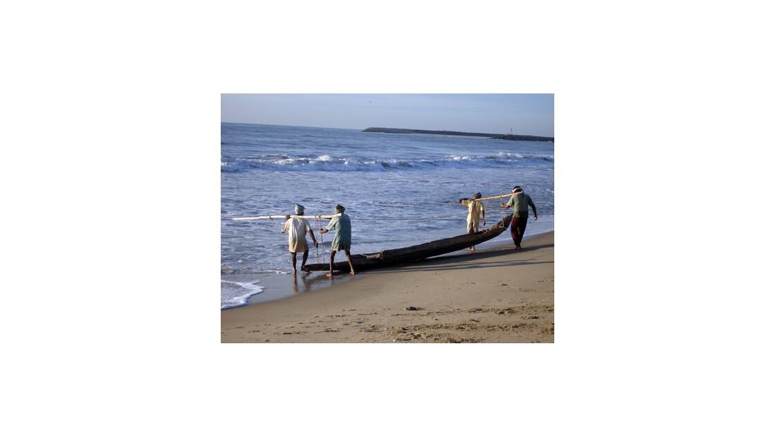 Pêcheurs à Pondy