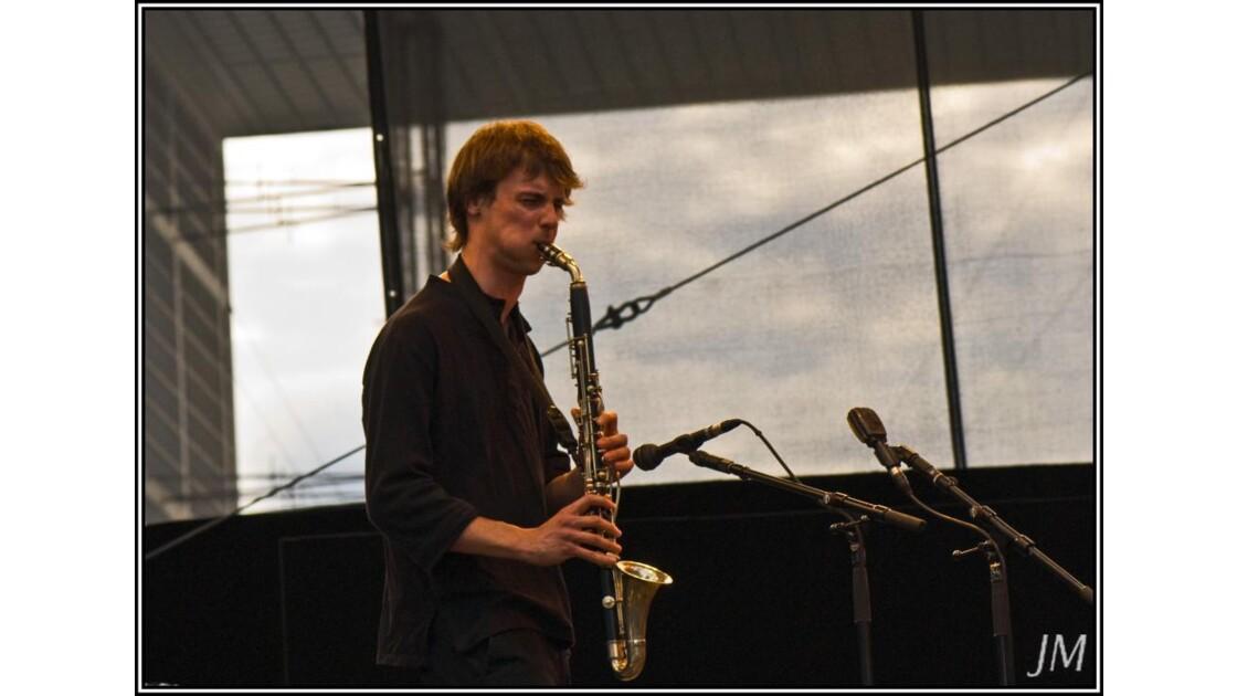 saxophoniste de jazz