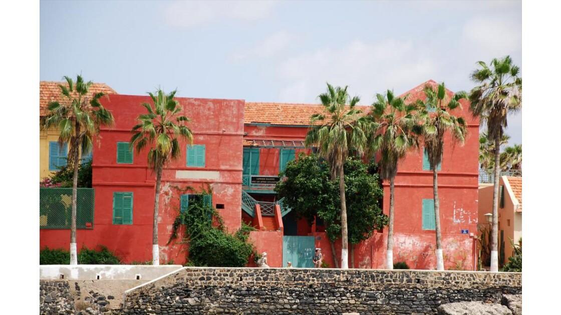 maison dans le port de Gorée