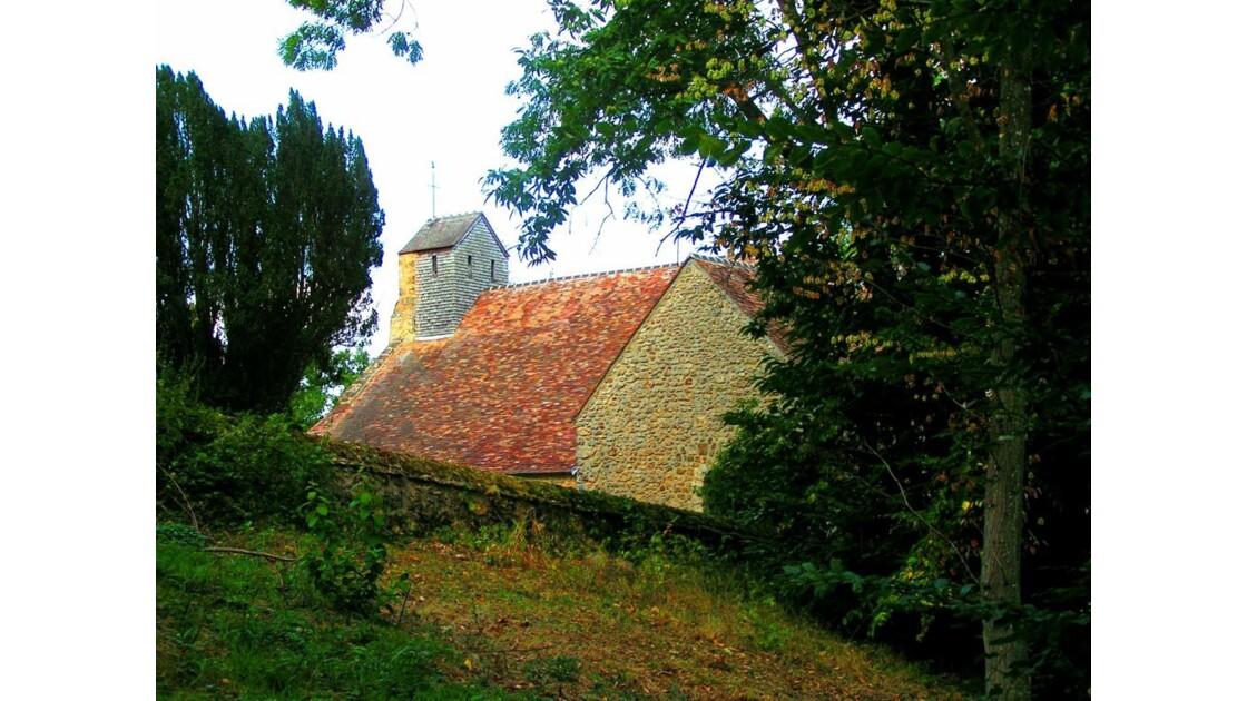 l'église,vue arrière.