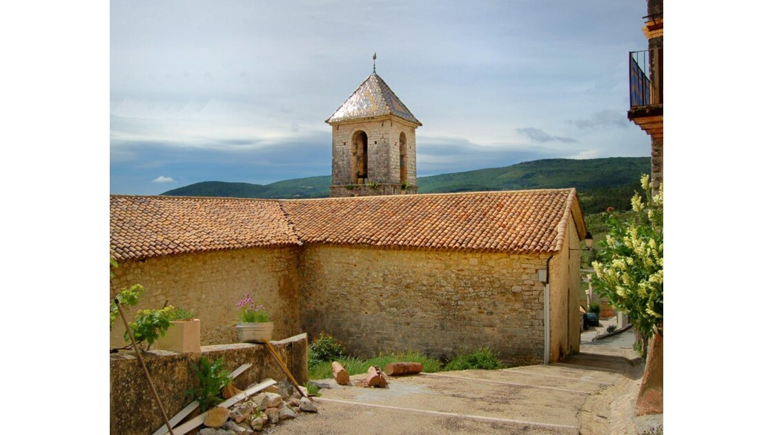 Eglise St-Michel - Trigance (83)