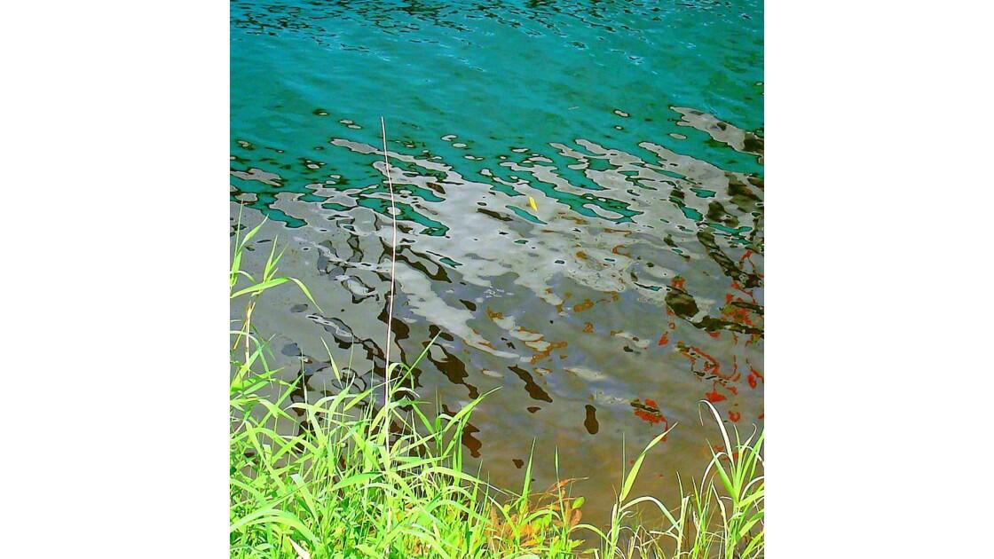 Reflet sur la Loire à Montsoreau