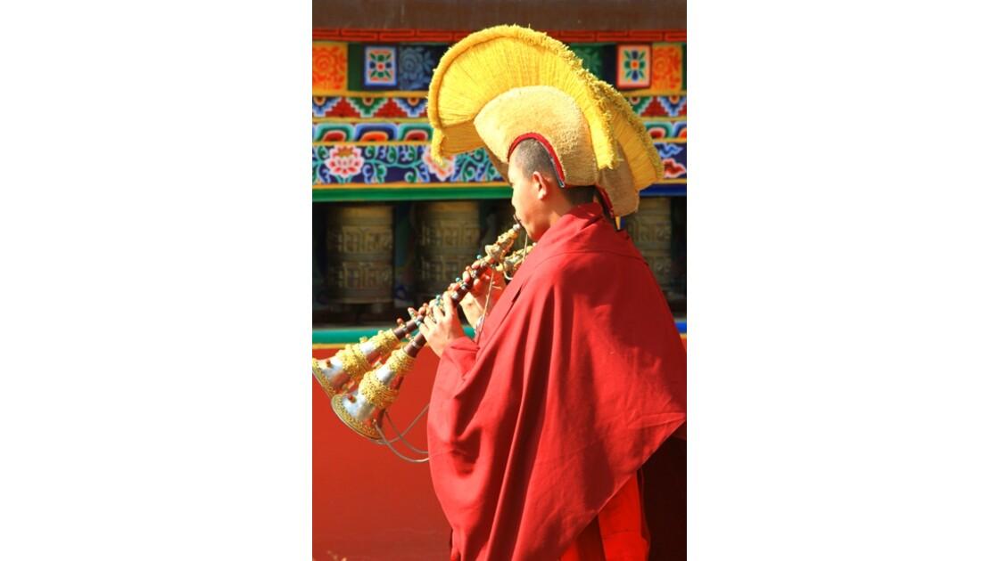 Procession des moines Shechen 4
