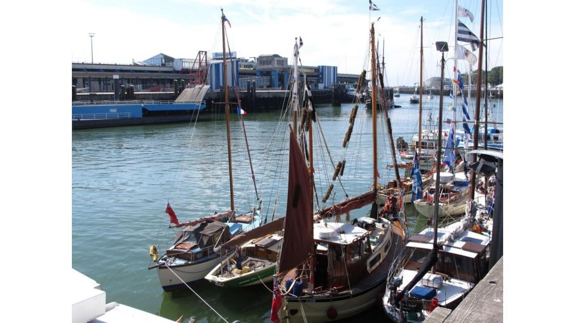 Les bateaux à quai