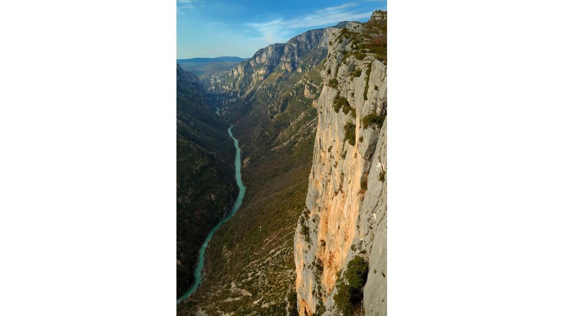 Les falaises du Verdon