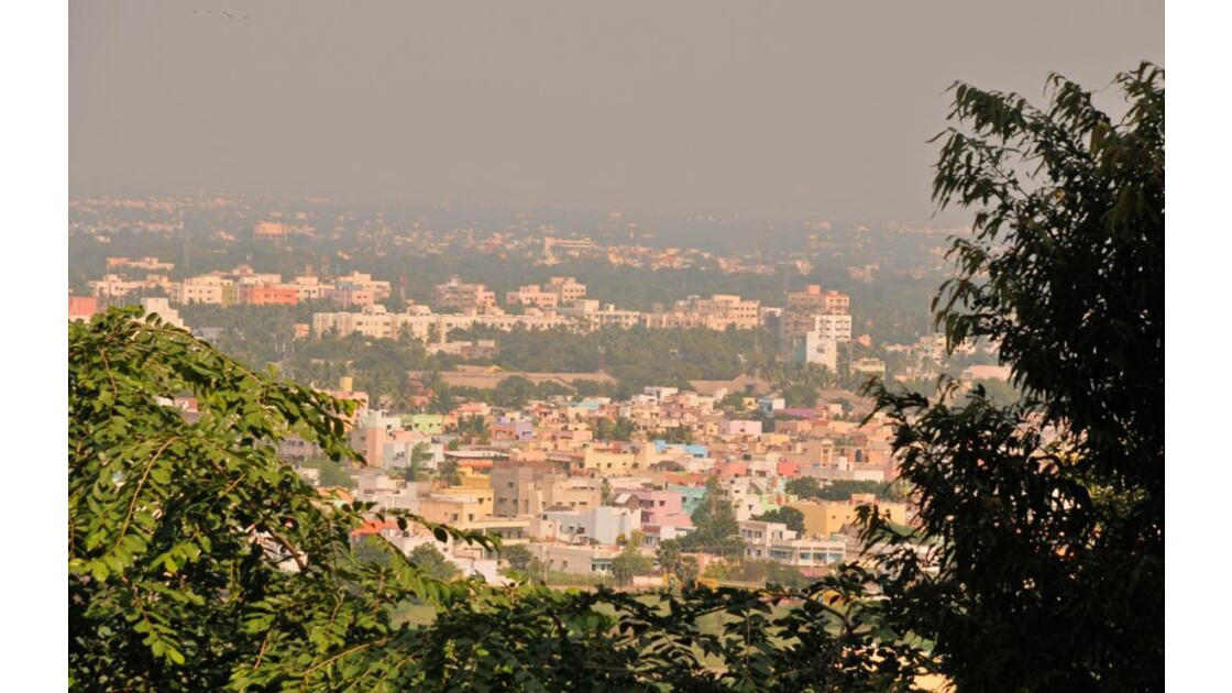 Madurai dans la brume !