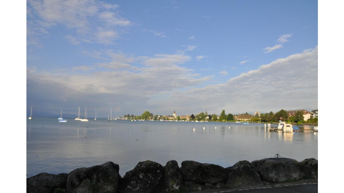 Morges ce  matin
