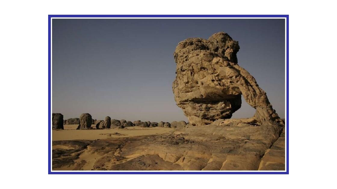 Les roches du Tassili