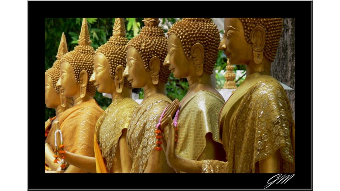 Temple de Vientiane.