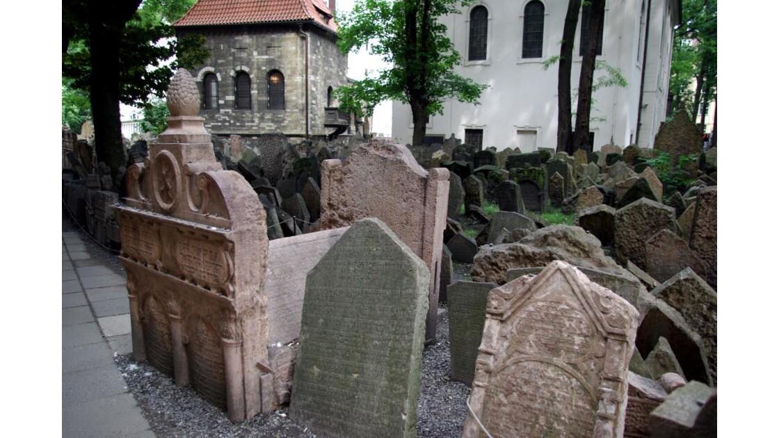 Ancien cimetière juif de Prague