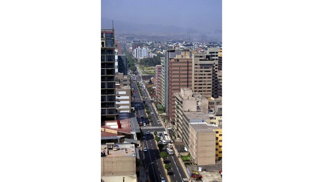 Lima, quartier résidentiel de Miraflores
