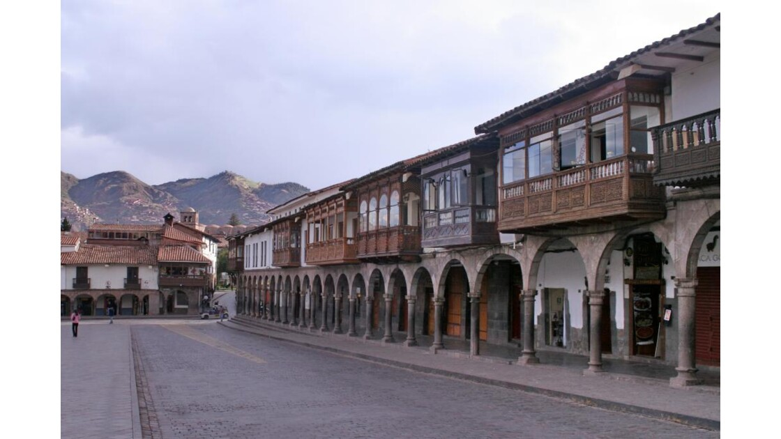 Pérou : Place d' Armes à Cusco