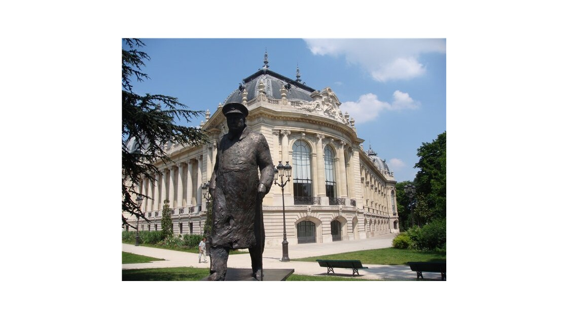 Mr. Churchill in Paris