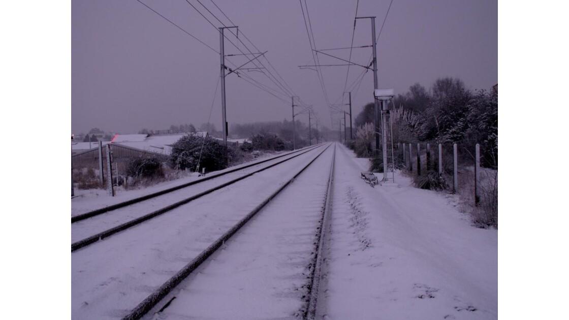 les rails
