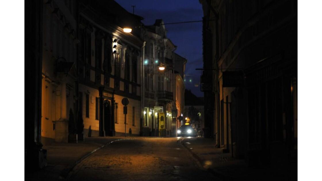 Vilnius by night