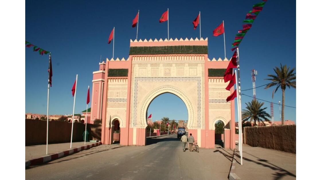 Porte d'entrée du Sahara