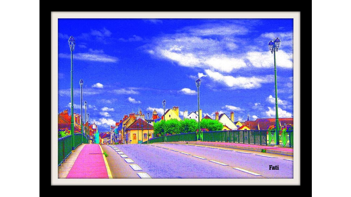 La route de Dijon