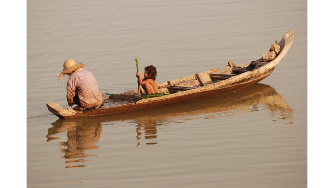 Pecheurs Cambodgiens