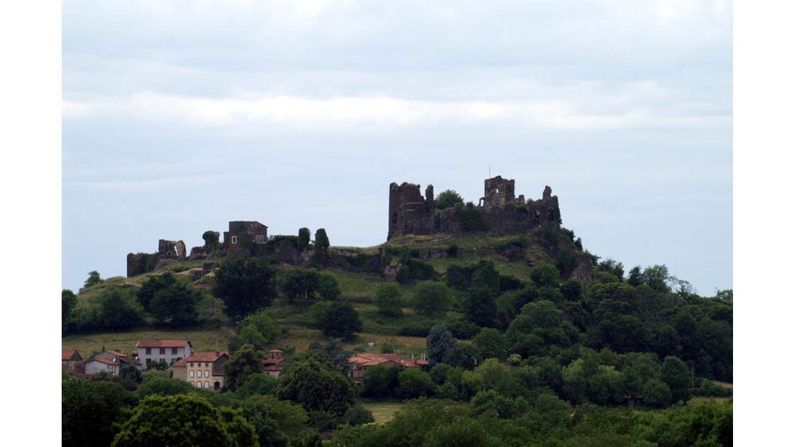 Château sur la butte