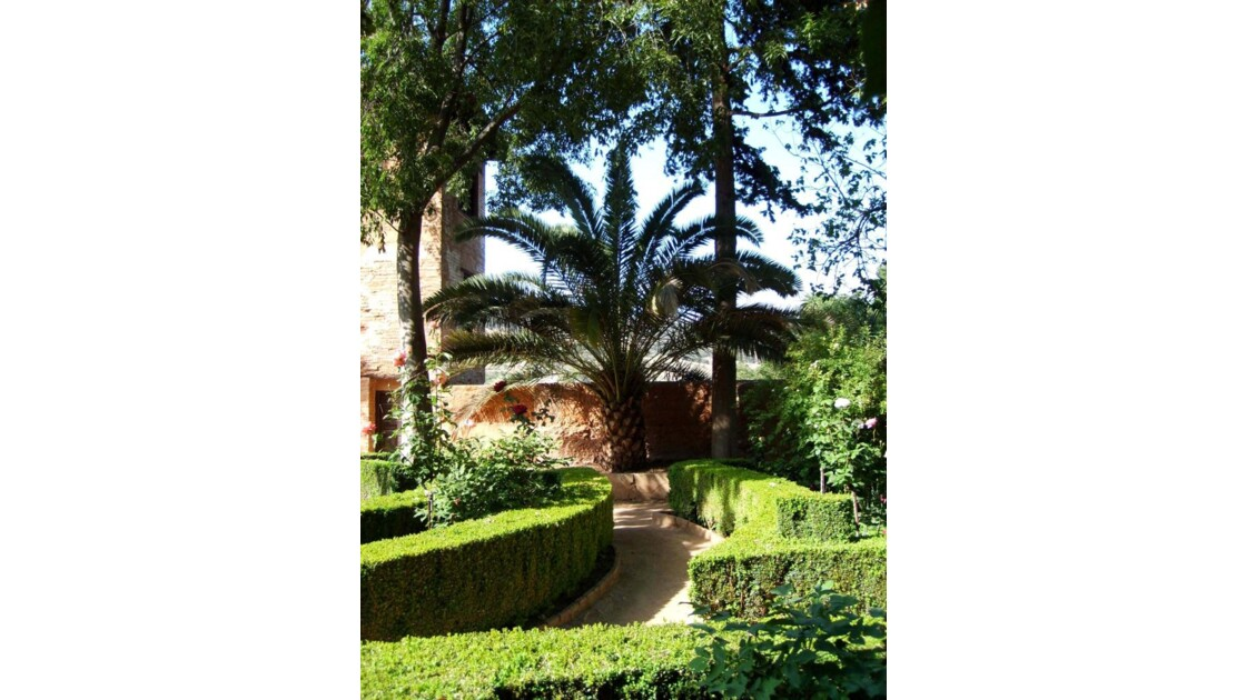 Grenade, l'Alhambra.