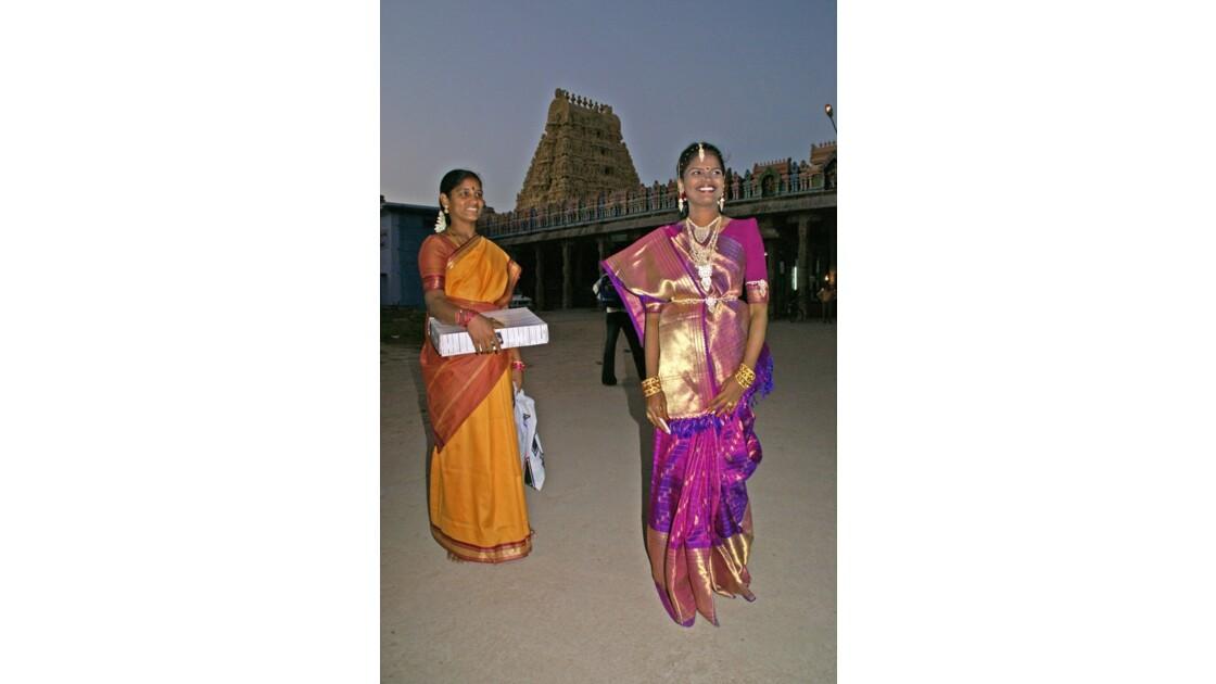 Belles de nuit à Kanchipuram