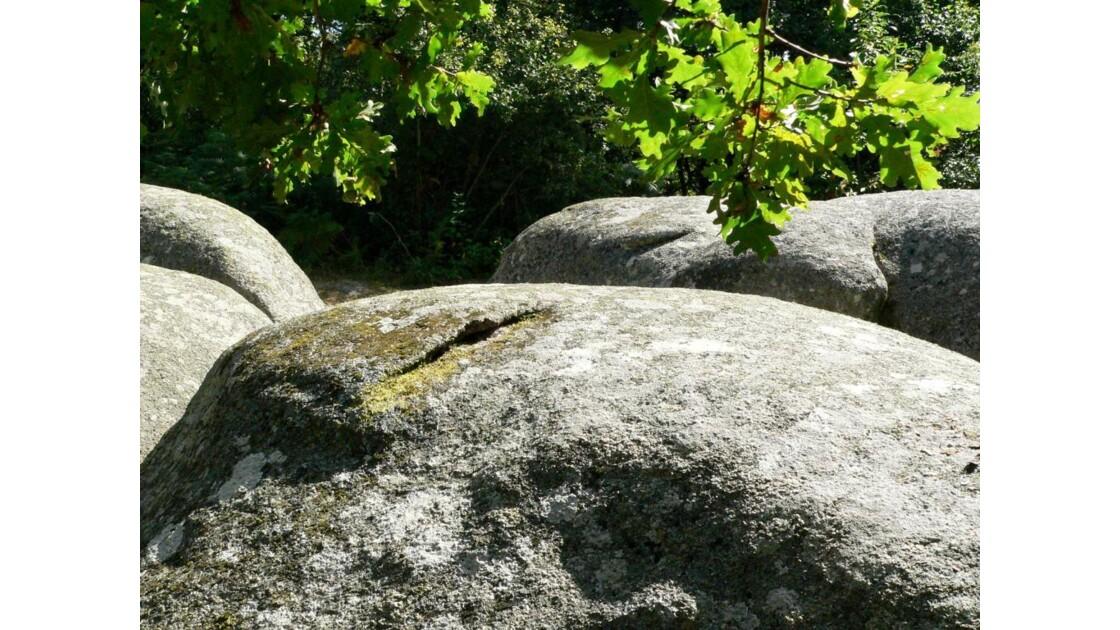 Les blocs de granit