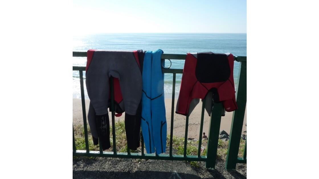 Peaux de surfeurs