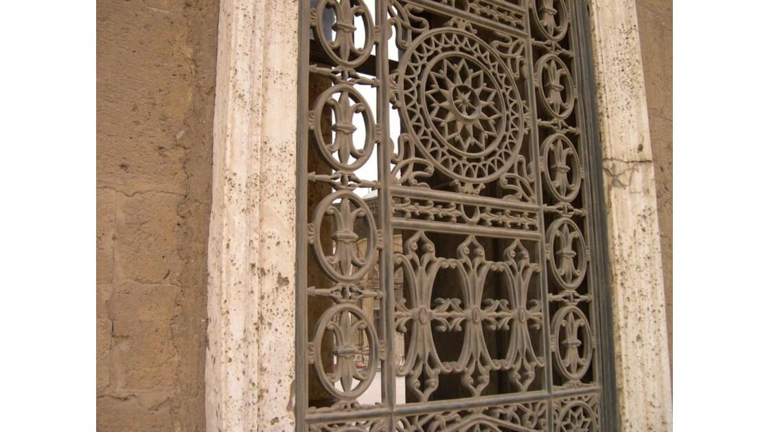 Fenetre Le Caire Mosquée de Mohamed Ali