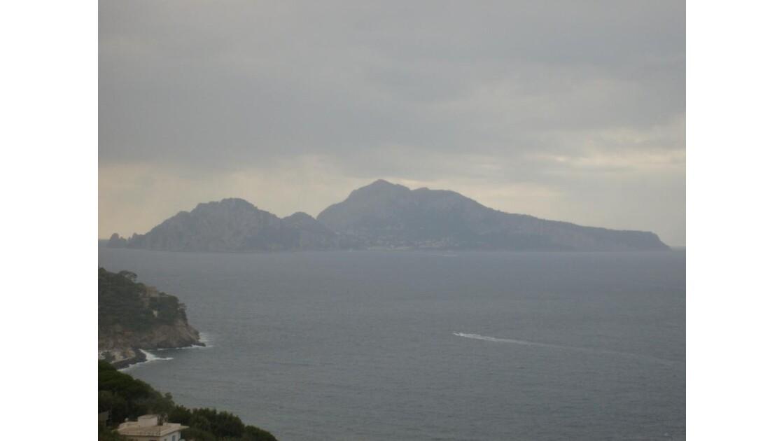Nuages sur Capri